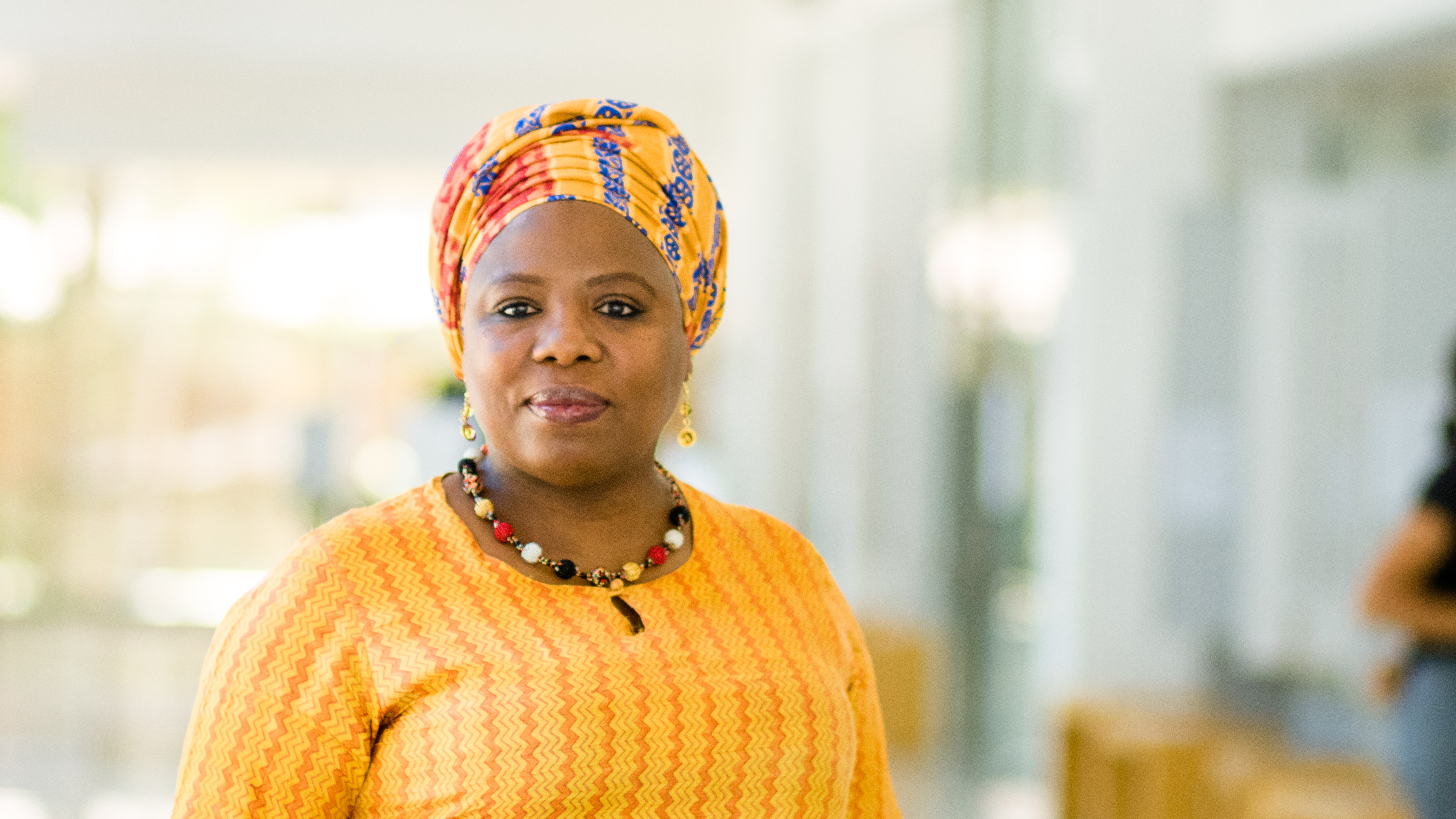Photo of IAPO director, Dr Beata Mtyingizana