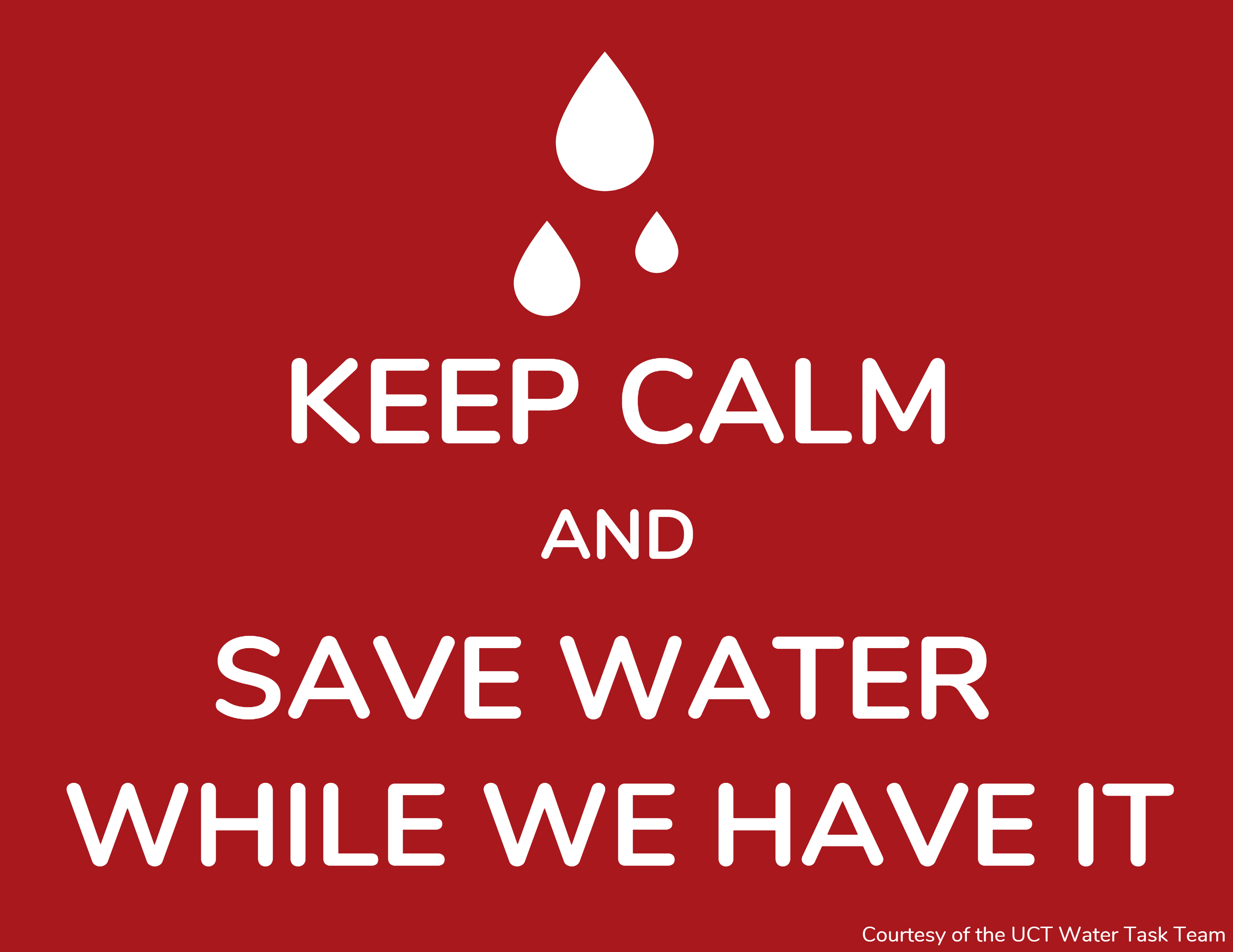 Keep calm and save it